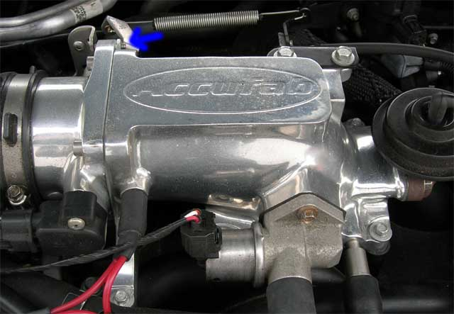 Accufab Throttle body